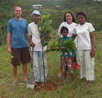 0Projekt Agroforstwirtschaft-Wiederaufforstung